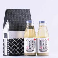 百年甘酒(ノンアルコール)セット 370g×2本入り [HAMSK-370×2]