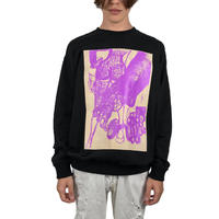 HARA Cotton Sweatshirt_BK