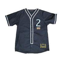 ベースボールシャツ/BLACK