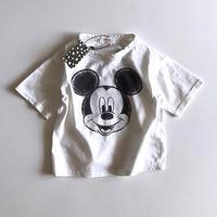 ★スケッチミッキーTシャツ★3カラー(Disney公式商品)