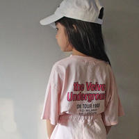 ★バックプリントルーズTシャツ★3カラー