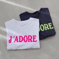 ★ネオンロゴTシャツ★ladies 2カラー