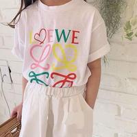 ★レインボープリント Tシャツ★2カラー