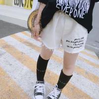 ★レタリングホワイトショートパンツ★