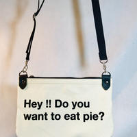 pieプリントミニショルダーバッグ