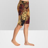 Knee Length  Yoga Leggings