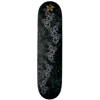 Blue Butterfly B Skateboard