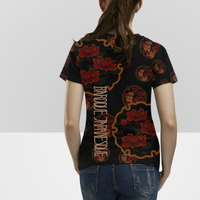 Flower and Butterfly T shirt  のコピー