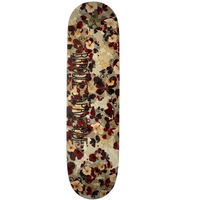 Hibiscus Butterfly Skateboard