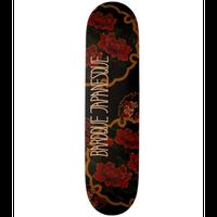 Flower and Butterfly Skateboard