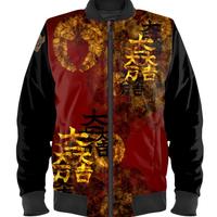 SAMURAI SHOGUN ISHIDA Man's Bomber Jacket