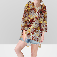 Flower and Butterfly Hoodie
