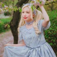 [Charlotte] Necklace & Ribbon チョーカー 【ご予約商品】