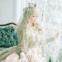 [Baroque] Baroque x KIYORE 'ROSARIA ROSARIO'  レーシーヴェールヘッドドレス【ご予約商品】