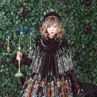 [Baroque] Baroque x KIYORE 'ROSARIA ROSARIO'  レーシーケープ【ご予約商品】