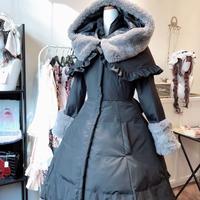 [Baroque] 2018 Baroque ロリータダウンコード*フリル無し*【予約商品、2着以上のお買い上げで10%割引】