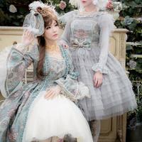 nouvelle mode(ヌーヴェルモード)' ジャンパースカート 残金決済【ご予約商品、限定商品】