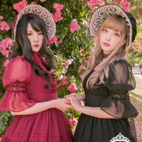 [Baroque] Nostalgia ヴィクトリアンボンネット【ご予約商品】