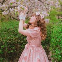 [Charlotte] Necklace & Ribbon リボンコーム 【ご予約商品】