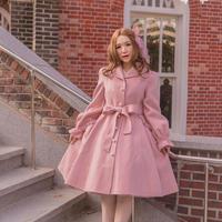 [Baroque] English Roseハンドメイドコート XL SIZE【ご予約商品】