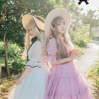 [Baroque] Nostalgia シフォンドレス 【ご予約商品】