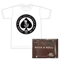 L -Cafe-Tシャツ(ホワイト)&PSYマスク(WEB限定価格)