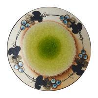 ぶどうの輪 丸皿(中)