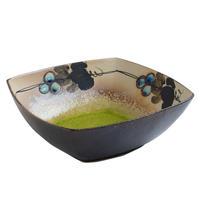 ぶどうの輪 角鉢(小)