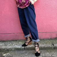 Vintage denim easy pants