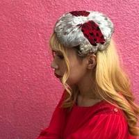 ヴィンテージ  フェザーのヘッドドレス