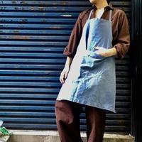 Old french denim  work apron