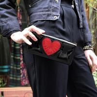Banned apparel heart breake wallet