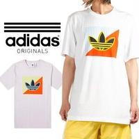 ADIDAS【アディダス】Originals ダイアゴナル ロゴ 半袖 Tシャツ