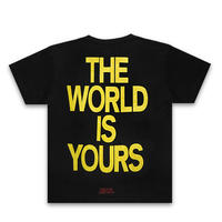 NAS Tシャツ -World Is Yours / BLACK