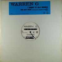 Warren G // I Want It All Remix // WW021A