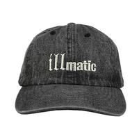 NAS キャップ -illmatic Cap / WASHED DENIM-