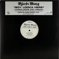 Rich Boy // Boy Looka Here // HR015A