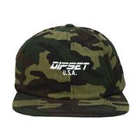 DIPSET U.S.A. キャップ -DIPSET USA LOGO 6 PANEL HAT / WOOLAMD CAMO-