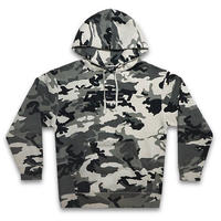 DIPSET U.S.A. パーカー -DIPSET USA EMBROIDERED LOGO HOODY / SNOW CAMO-