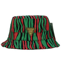 7UNION バケットハット -ANTHOLOGY BUCKET / GREEN&RED-