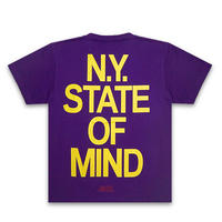 NAS Tシャツ -N.Y State Of Mind / PURPLE-