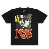 NAS Tシャツ -Nasty Nas / BLACK-