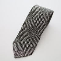 Glen Check Tie/Black