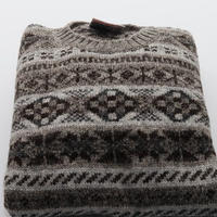 Jamieson's Knit/Fairisle Grey