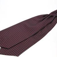 Adamley Ascot Tie/Bordeaux