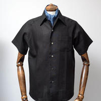 Caribbean Shirts/Black Linen