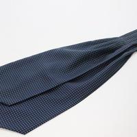 Adamley Ascot Tie/Navy Dot  NDA