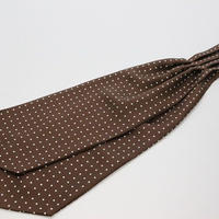 Adamley Ascot Tie/Brown Dot