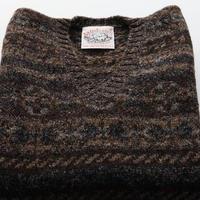 Jamieson's Knit/Fairisle Brown