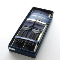 Albert Thurston Braces/Ribbon Midnight